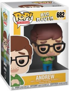 Figurine Andrew – Big Mouth- #682
