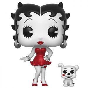 Figurine Betty Boop black and white and red chase – Betty Boop- #505