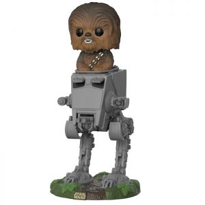 Figurine Chewbacca with AT-ST – Star Wars- #419