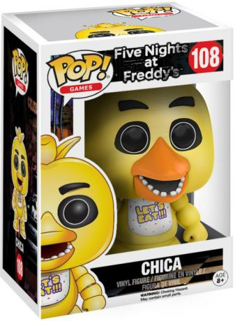 Figurine pop Chica le Poulet - Five Nights at Freddy's - 1