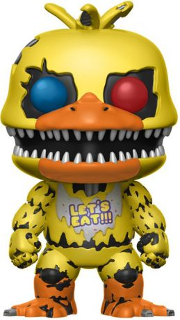 Figurine pop Chica le Poulet Cauchemar - Five Nights at Freddy's - 2