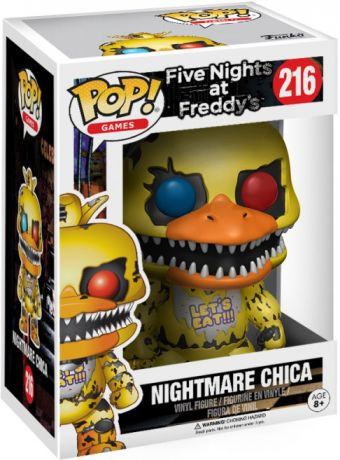 Figurine pop Chica le Poulet Cauchemar - Five Nights at Freddy's - 1