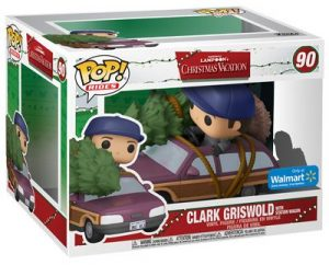 Figurine Clark Griswold with Station Wagon – Le sapin a les boules- #90