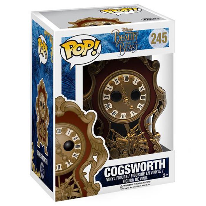 Figurine pop Cogsworth - Beauty And The Beast - 2
