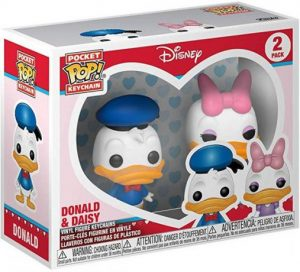 Figurine Donald & Daisy – 2-Pack – Mickey Mouse