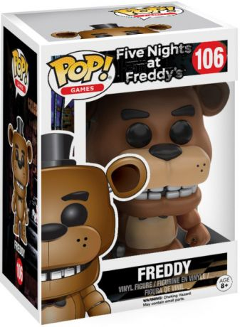 Figurine pop Freddy l'Ours - Five Nights at Freddy's - 1