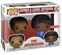 Figurine Georges et Louise Jeffersons Pack – The Jeffersons