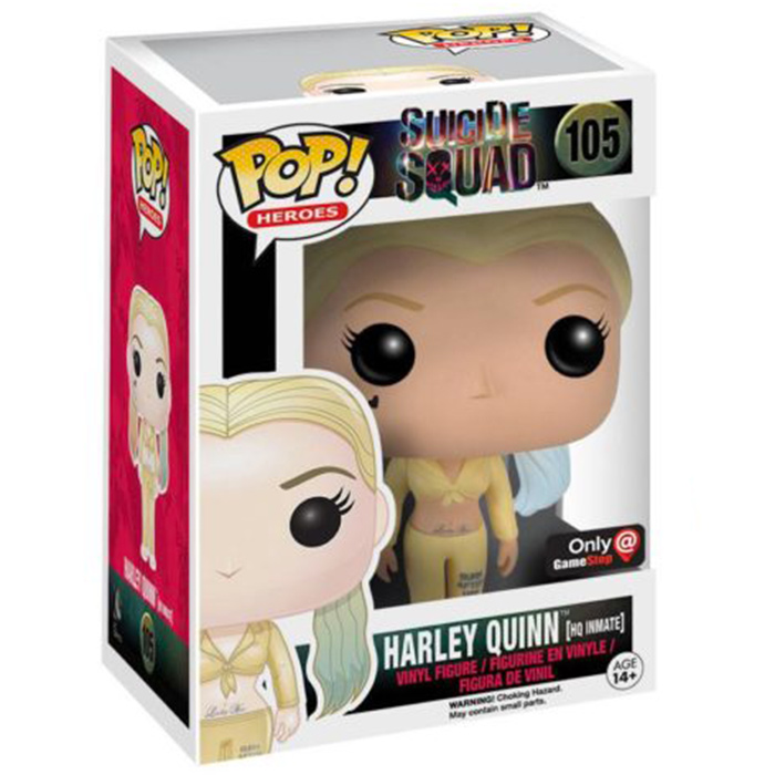 Figurine pop Harley Quinn HQ Inmate - Suicide Squad - 2