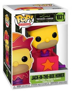 Figurine Homer Jack-In-The-Box – Les Simpson- #1031