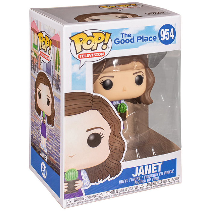 Figurine pop Janet - The Good Place - 2