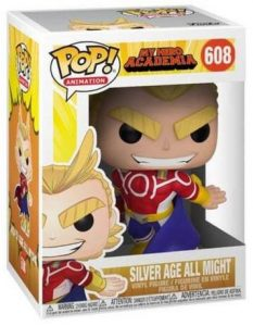 Figurine L'âge d'Argent All Might – My Hero Academia- #608