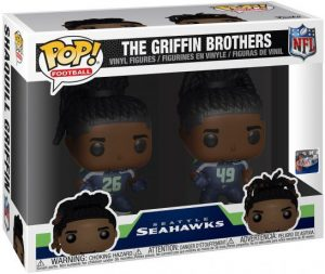 Figurine Les Frères Griffin – Seattle Seahawks – 2 Pack – NFL
