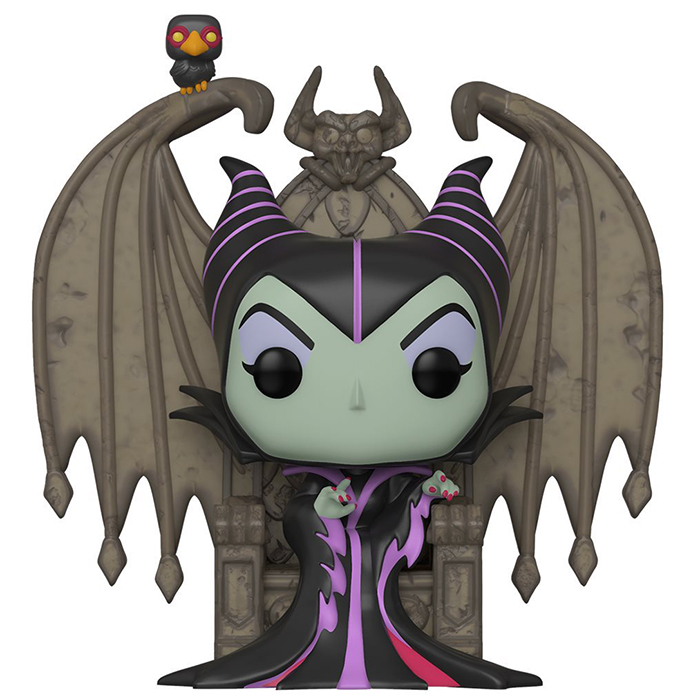 Figurine Maleficent on Throne – Villains- #92