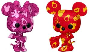 Figurine Mickey et Minie – Pack 2 – Mickey Mouse