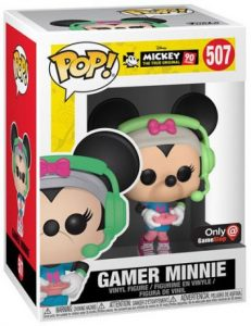Figurine Minnie Gameuse – Mickey Mouse – 90 Ans- #507