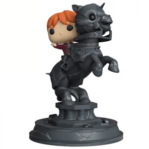 Figurine Movie Moments Ron Weasley riding chess piece – Harry Potter- #338