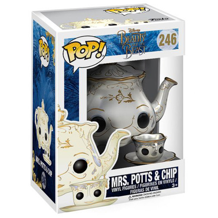 Figurine pop Mrs Potts and Chip - Beauty And The Beast - 2