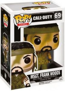 Figurine MSGT Frank Woods – Call of Duty- #69