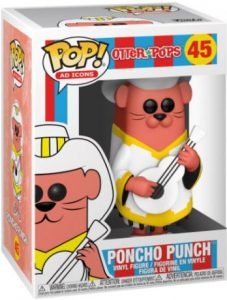 Figurine Poncho Punch – Otter Pops- #45
