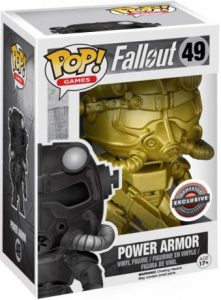 Figurine Power Armor – Or – Fallout- #49