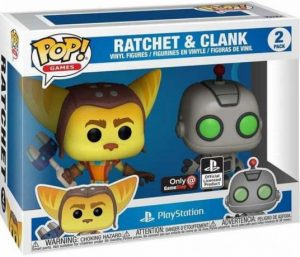 Figurine Ratchet & Clank – 2 pack – PlayStation