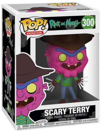 Figurine pop Scary Terry - Rick et Morty - 1