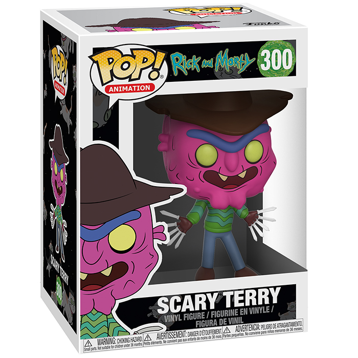Figurine pop Scary Terry - Rick et morty - 2