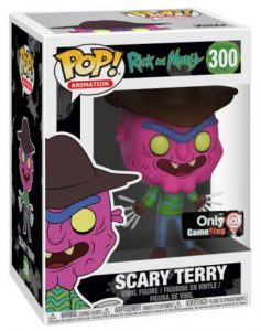 Figurine Scary Terry – Neon – Rick et Morty- #300