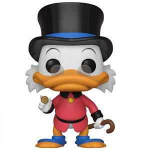 Figurine Scrooge McDuck with red coat – Picsou- #421