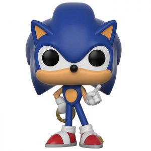 Figurine Sonic with Ring – Sonic le hérisson- #181