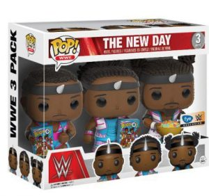 Figurine The New Day – 3 pack – WWE