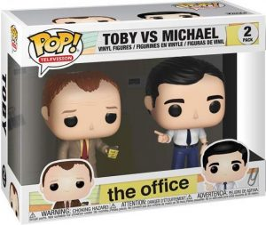 Figurine Toby vs Michael – 2 Pack – The Office