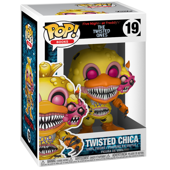 Figurine pop Twisted Chica - Five Nights At Freddy's - 2