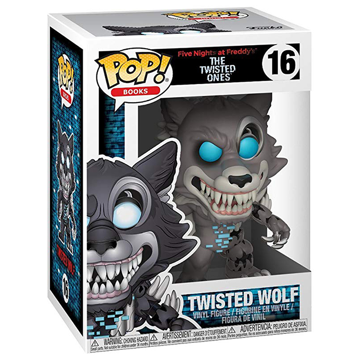 Figurine pop Twisted Wolf - Five Nights At Freddy's - 2