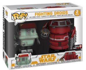 Figurine W1 – Fight Droids – 2 pack – Solo : A Star Wars Story